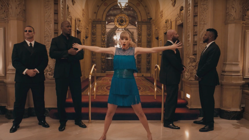 Ny Taylor Swift-video beskyldt for plagiering