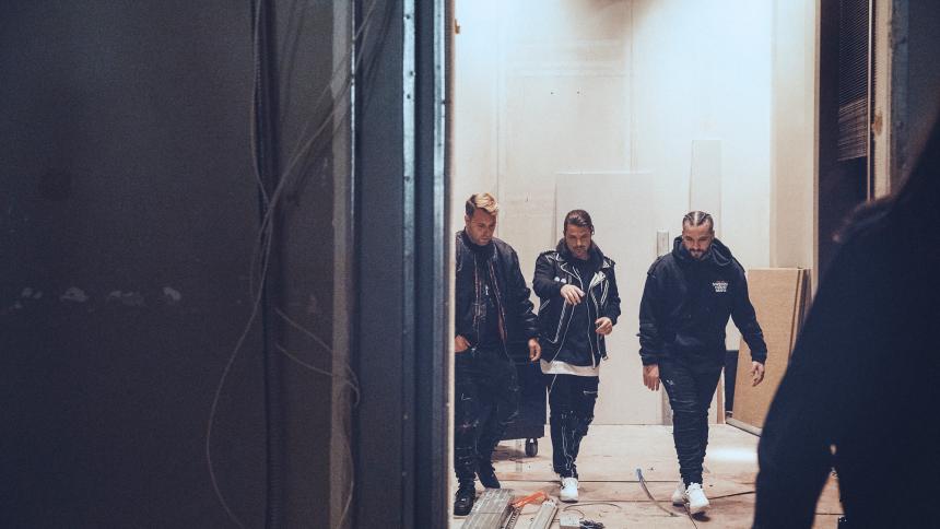 Swedish House Mafia blev genforenet i nat