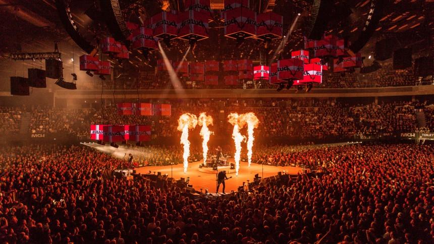 Metallica slår publikumsrekord i Danmark