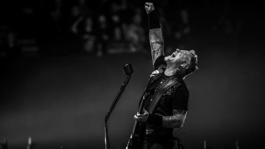 Metallica åbner for whiskyflasken