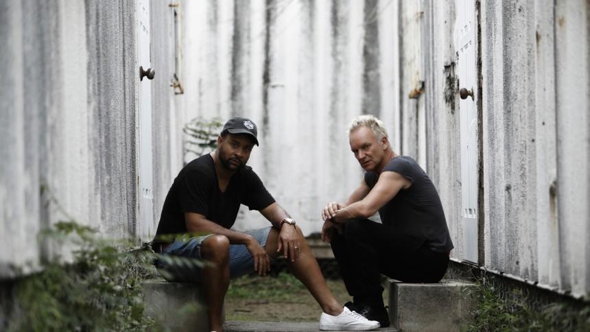"""Varm """"bromance"""" mellem Shaggy og Sting"""