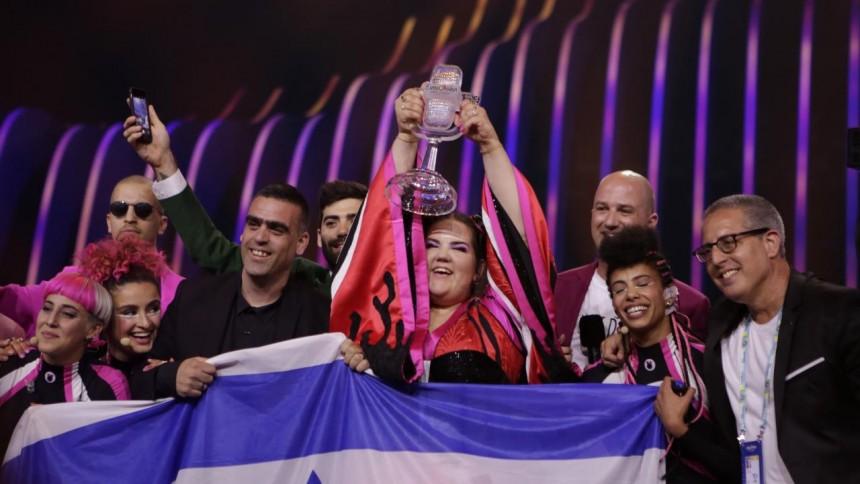 Israelske Netta løb med sejren i Lissabon