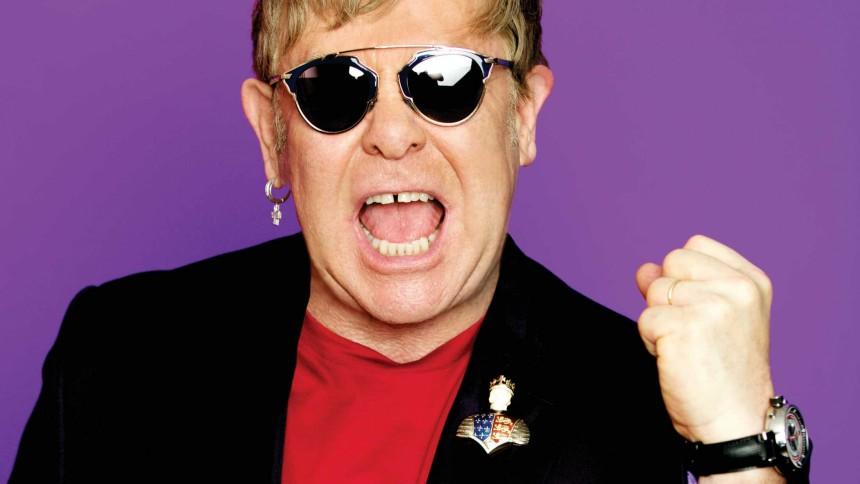 ANMELDELSE: Stjernespækket pophyldest til Elton Johns sangskat