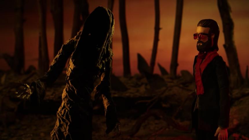 Father John Misty nedfarer til dødsriget i ny animationsvideo