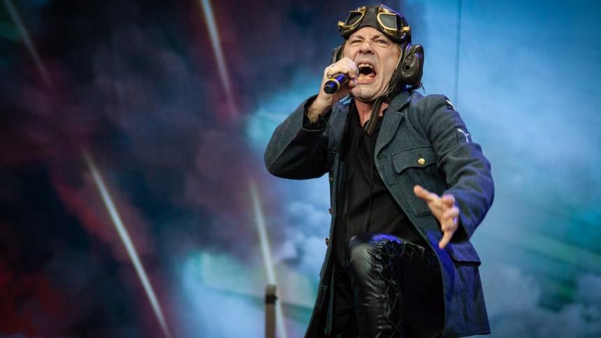 Iron Maiden indtager Danmark i morgen – sådan var de i Norge