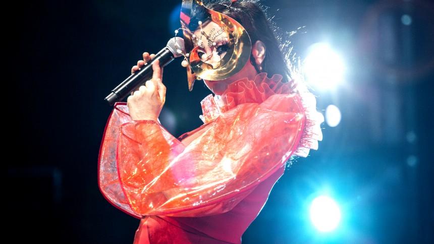 Björk til Danmark med multimediekoncert