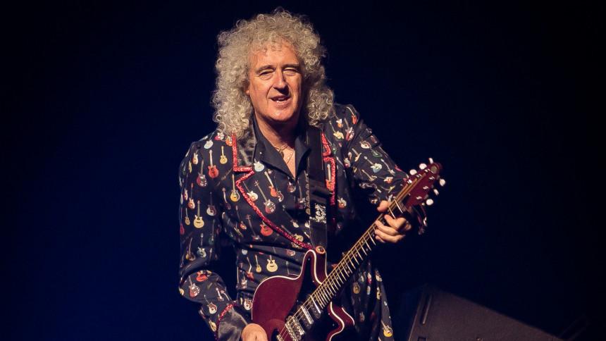 """Brian May har været indlagt: """"Jeg var meget tæt på at dø"""""""