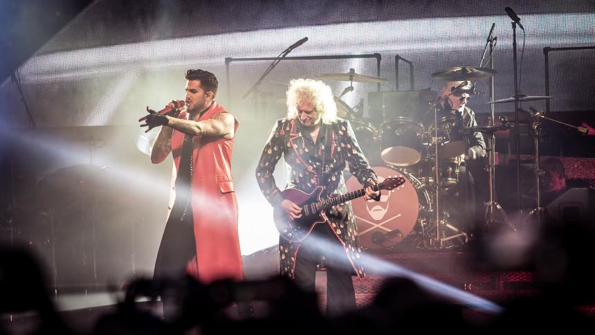 Queen + Adam Lambert - the Rhapsody Tour - VENTELISTE