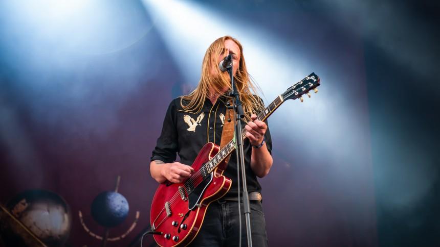 Svenske Graveyard giver dansk koncert