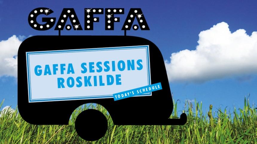 EKSKLUSIVT: Oplev GAFFA Sessions live på Roskilde