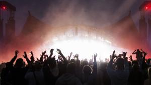 Roskilde Festival nattestemning 050718