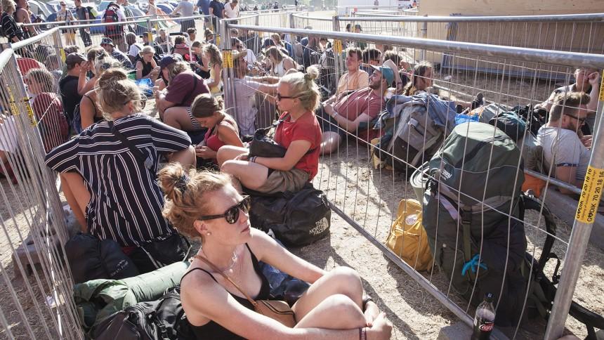 Fotoserie: Roskilde Festival – den store hjemrejsedag