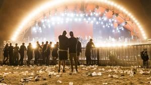 Roskilde Festival stemning 070718