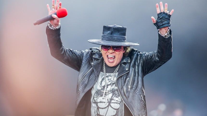 Guns N' Roses kommer til Skandinavien