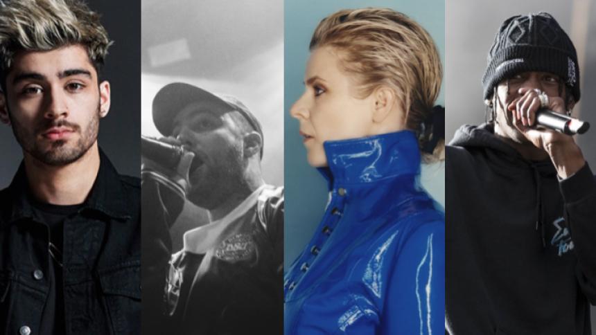 PLAYLISTE: Stærke nye sange til din weekend