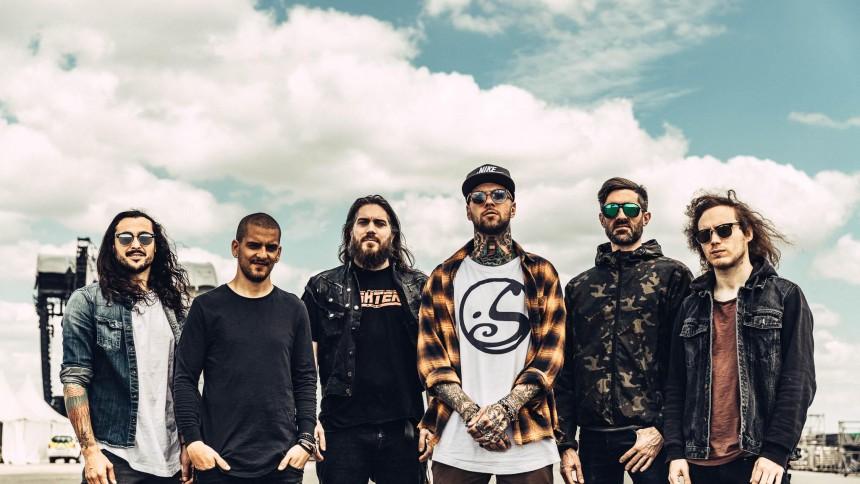 Metalbandet Betraying the Martyrs rammer København