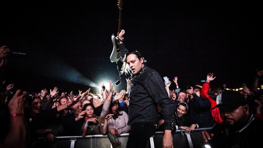 Arcade Fire holdt premiere på ny sang på den amerikanske valgaften