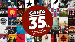 GAFFA 35 år - jubilæum