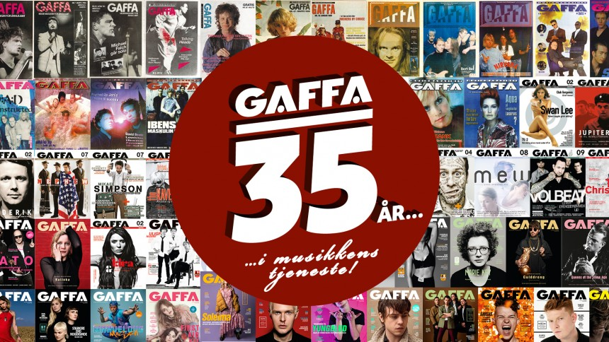 GAFFA FYLDER 35 ÅR: Friske interviews og flashbacks på vej