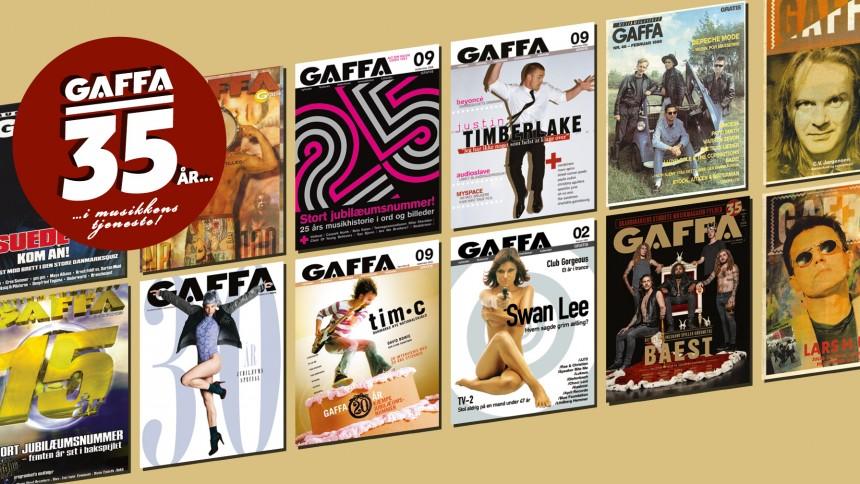 Historien om GAFFA: 35 år med op- og nedture