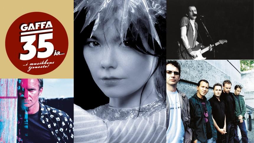 Eksklusivt i GAFFA: Dengang med Björk, Pearl Jam, Knopfler og Sting