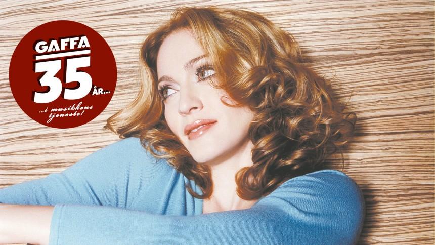 Eksklusivt i GAFFA: Dengang med Madonna