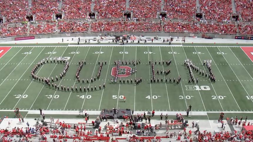 Ohio State Marching Band fremfører episk hyldest til Queen