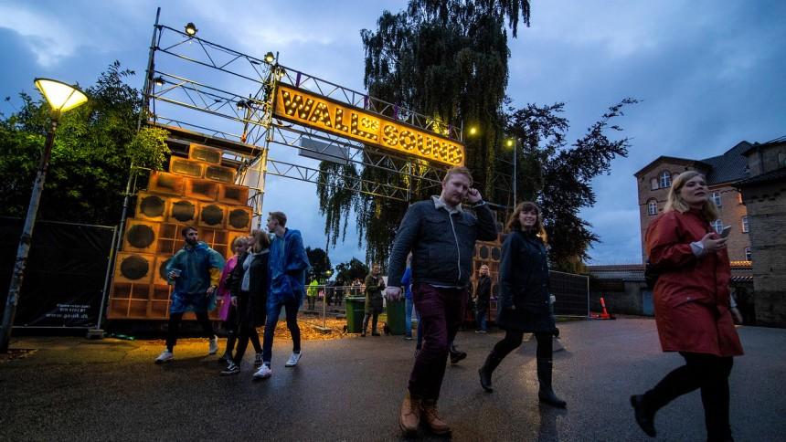 Se masser af billeder fra Horsens' nye musikfestival Wall of Sound