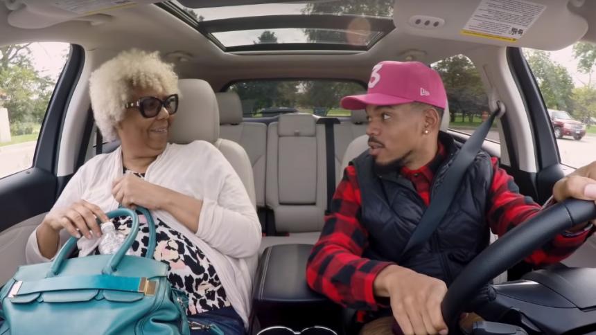 Se Chance The Rapper gå undercover som chauffør for velgørenhed