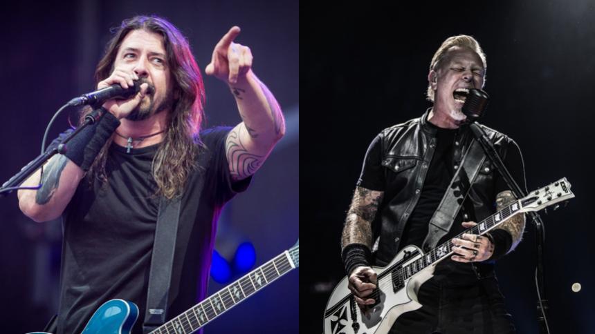 VIDEO: Foo Fighters overrasker fans til Metallica-koncert
