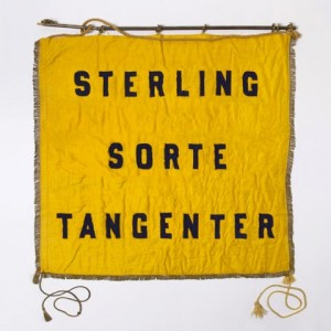 Sterling: Sorte tangenter