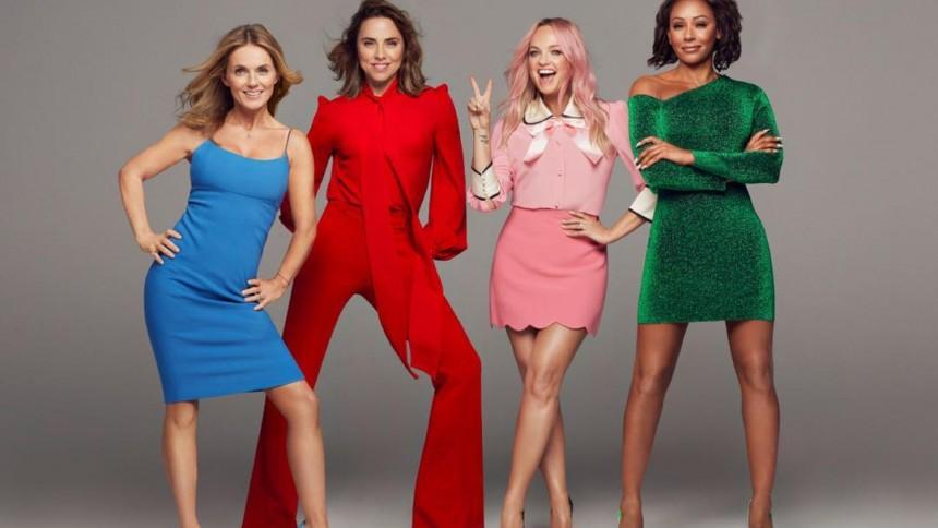 Se Spice Girls på scenen for første gang i syv år