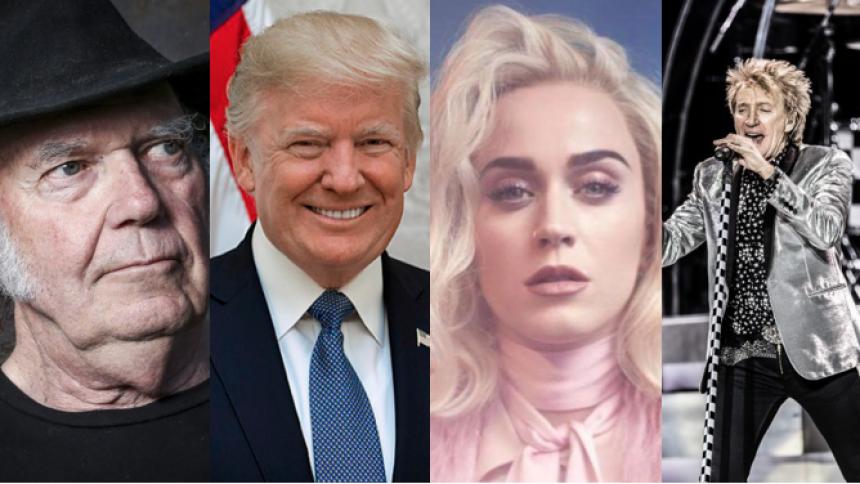 Musikere raser efter Donald Trumps grove udtalelser om Californiens skovbrande