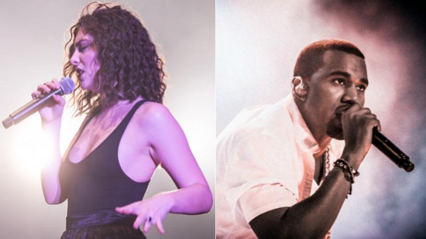 Lorde beskylder Kanye West og Kid Cudi for tyveri