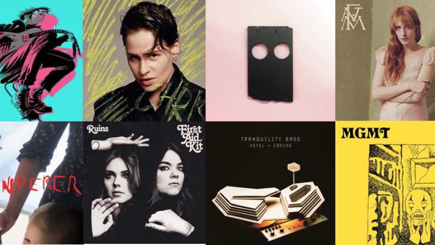 Redaktionen kårer årets internationale album – nummer 10-1