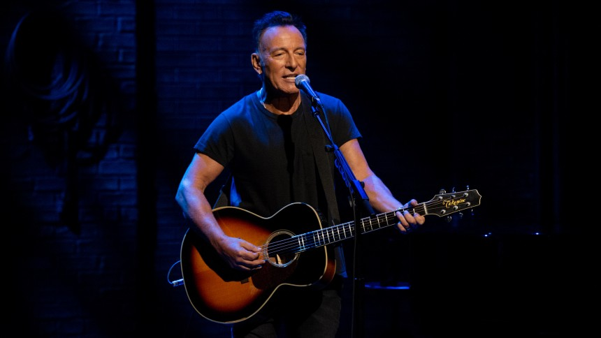 Springsteen-film: Et overbevisende one man show