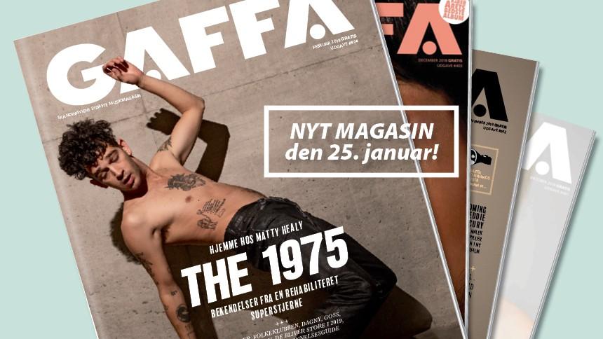 Derfor har du ikke fået dit GAFFA-magasin endnu
