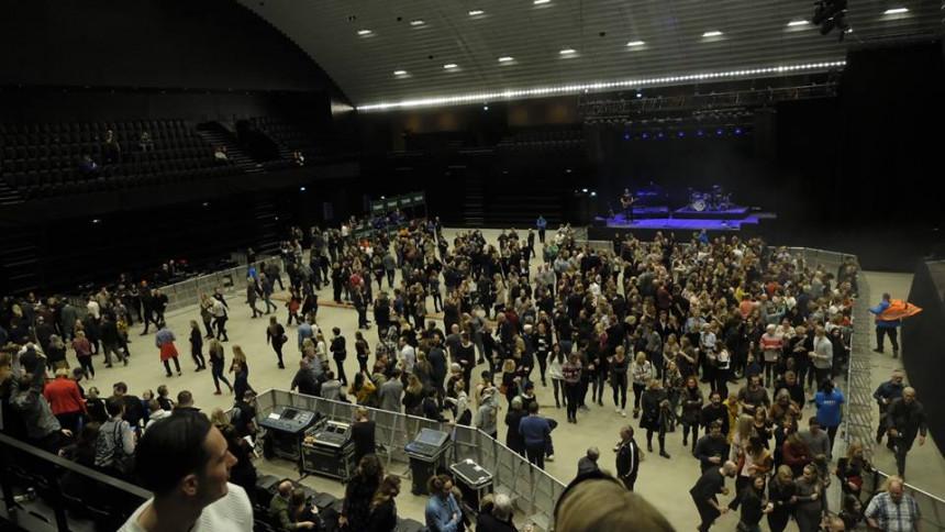 KB Hallen evakueret under åbningsfestival
