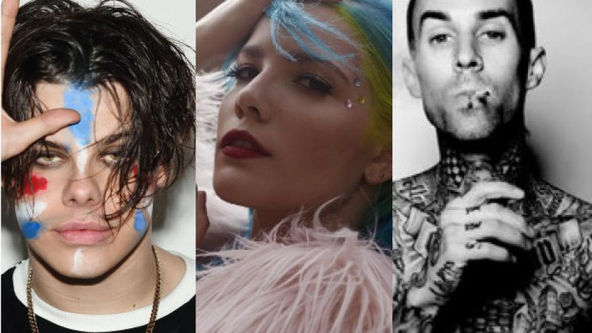 Hør ny sang om moderne kærlighed af Yungblud, Halsey og Travis Barker fra Blink-182