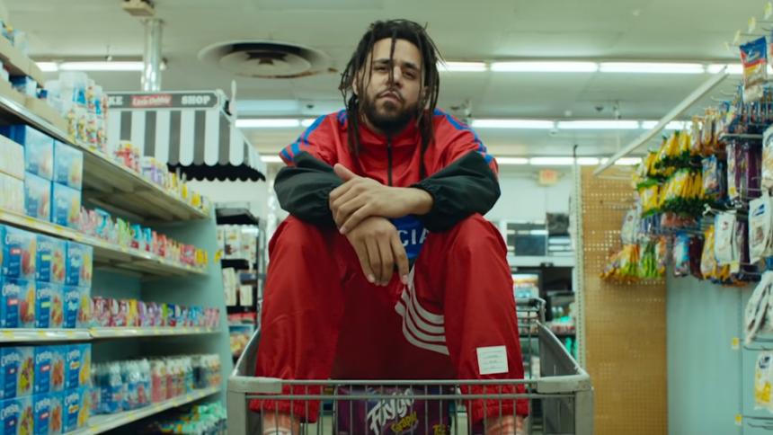 J. Cole har hugget hovedet af din yndlingsrapper i ny video