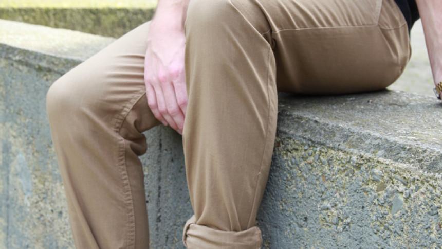 Elegante chino bukser til mænd er tidens trend