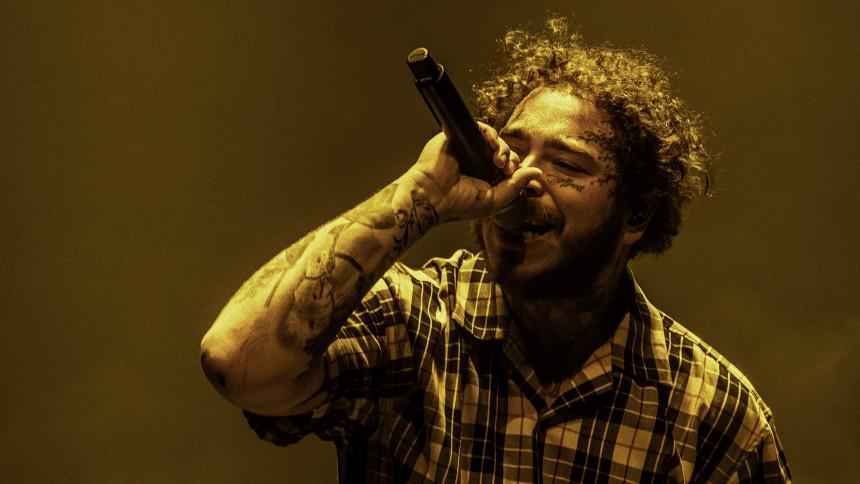 Post Malone udgiver albummet Hollywood's Bleeding