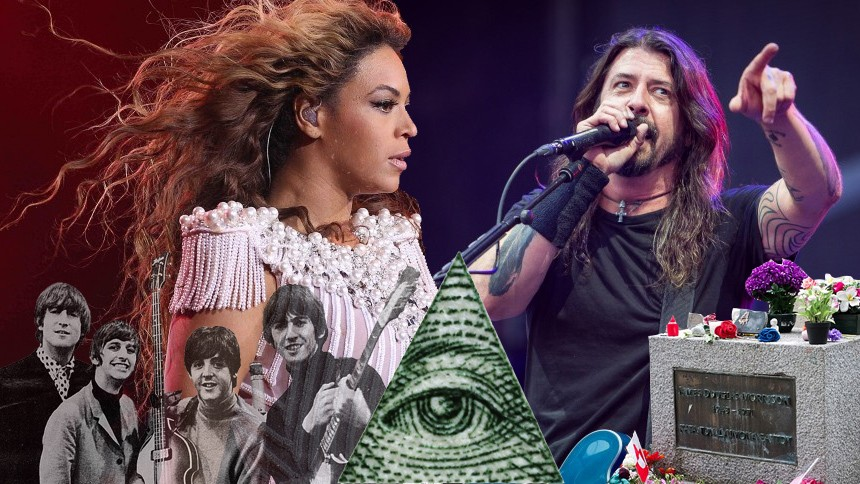 PÅ MED FOLIEHATTEN: 10 skøre konspirationsteorier fra musikkens verden