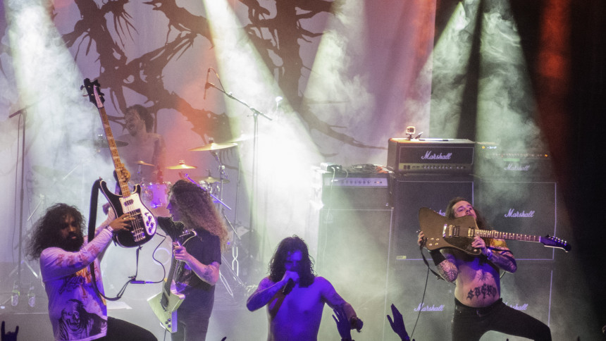 Aborted (BE) + Entombed A.D. (SE) + Baest (DK)