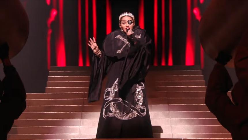 Madonna mørklægger Eurovision-fiasko – falsk sang bortredigeret