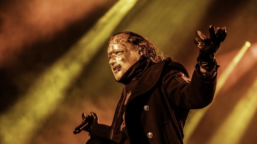 """Slipknot-forsanger: """"Man behøver ikke være påvirket for at have det fedt"""""""