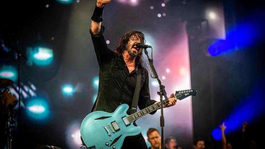 Foo Fighters deler rødglødende lyd fra nyt album
