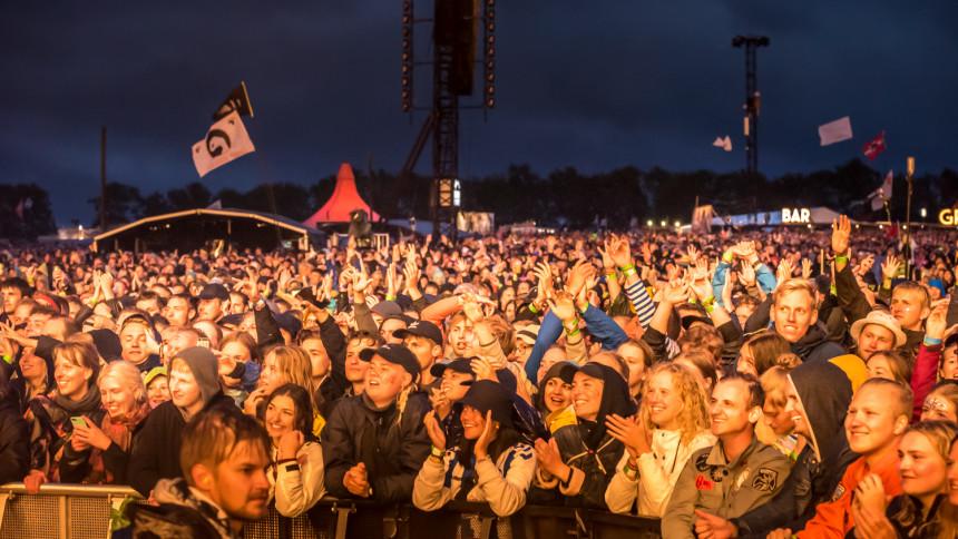 Flere deltagere til festivaler og store koncerter