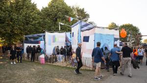 Roskilde Festival-stemningsfotos 050719 om dagen
