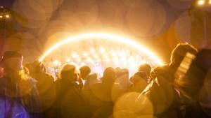 Roskilde Festival-stemningsfotos 050719 om natten
